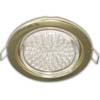 Ecola GX53 H4 Downlight without reflector_gold (����������) 38�106