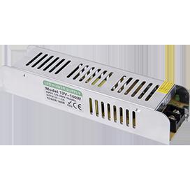 Ecola LED strip Power Supply 100W 220V-12V IP20 узкий блок питания для светодиодной ленты