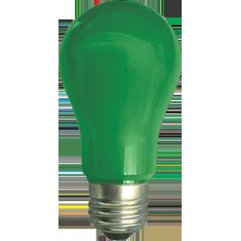 Ecola classic LED color 12,0W A60 220V E27 Green Зеленая 360° (композит) 110x60