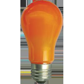 Ecola classic LED color 12,0W A60 220V E27 Orange Оранжевая 360° (композит) 110x60