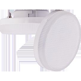 Ecola Light GX53 LED 8,0W Tablet 220V 6400K 27x75 матовый поликарбонат 30000h (1 из ч/б уп. по 10)