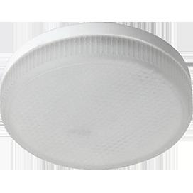 Ecola Light GX53 LED 8,0W Tablet 220V 4200K 27x75 матовый поликарбонат 30000h