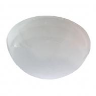 Ecola Light GX53 LED ДПП 03-60-2 светильник Сириус Круг накладной IP65 1*GX53 матовый белый 220х220х100