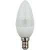 Ecola candle LED 4,2W 220V E14 2700K полуматовая свеча искристая пирамида 98x36