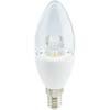 Ecola candle LED Premium 7,0W 220V E14 4000K прозрачная свеча с линзой (композит) 109x37