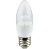Ecola candle LED Premium 7,0W 220V E27 4000K прозрачная свеча с линзой (композит) 103x37