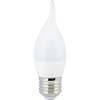 Ecola candle LED 6,0W 220V E27 4000K свеча на ветру (композит) 118x37
