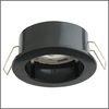Ecola GX40 DGX40E Светильник встраиваемый черный 30x75