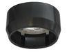 Ecola GX40 DGX40F Светильник накладной черный 30x75