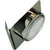 Ecola GX53-N82 светильник настенный угловой черный хром 52*130*111