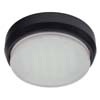 Ecola GX53 DGX5318 Накладной Легкий Черный (светильник) 18x88