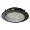 Ecola GX70 H5 светильник встраив. без рефл. Черный хром 53x151