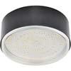 Ecola GX70-N50 Светильник накладной легкий Черный 42x120
