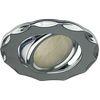 Ecola MR16 DH07 GU5.3 Светильник встр. поворотный Звезда (скрытый крепеж лампы) Хром 25x88 (кd74)