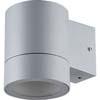 Ecola GX53 LED 8003A светильник накладной IP65 прозрачный Цилиндр металл. 1*GX53 Серый матовый 114x140x90