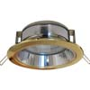 Ecola GX70-H6R светильник золото встр. с рефл. 65x171