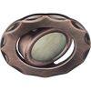 Ecola MR16 DH07 GU5.3 Светильник встр. поворотный Звезда (скрытый крепеж лампы) Медь 25x88 (кd74)