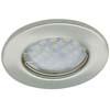 Ecola Light MR16 DL90 GU5.3 Светильник встр. плоский Сатин-Хром 30x80