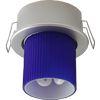 Ecola GX40 DGX40E Светильник встраиваемый серебро 30x75