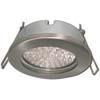 Ecola GX53 H9 защищенный IP65 светильник встраив. без рефл. сатин-хром 98х55