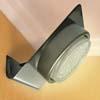 Ecola GX53-N82 светильник настенный угловой сатин-хром 52*130*111