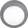 Ecola GX53 LED B4139S светильник накладной IP65 матовый Круг алюмин. 1*GX53 Серый 145x145x65
