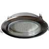 Ecola GX70-H5 светильник сатин-хром встр. без рефл. 53x151