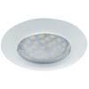 Ecola Light MR16 DL92 GU5.3 Светильник встр. выпуклый Белый 30x80