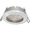 Ecola GX53 H9 защищенный IP65 светильник встраив. без рефл. белый 98х55