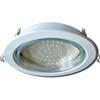 Ecola GX70-H5 светильник белый встр. без рефл. 53x151