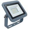 Ecola Projector LED 10,0W 220V 2800K IP65 Светодиодный Прожектор тонкий Серебристо-серый 115x80x14