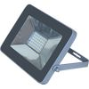 Ecola Projector LED 50,0W 220V 2800K IP65 Светодиодный Прожектор тонкий Серебристо-серый 221x154x20