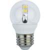 Ecola globe LED Premium 4,0W G45 220V E27 4000K 320° прозрачный шар искристая точка (керамика) 76х45