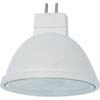 Ecola MR16 LED 5,4W 220V GU5.3 4200K прозрачный поликарбонат (композит) 48x50