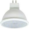 Ecola MR16 LED 7,0W 220V GU5.3 2800K прозрачный поликарбонат (композит) 48x50