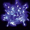 Ecola LED гирлянда 220V IP44 Бахрома 5x0.5м 135Led Синий Blue, 8 режимов, прозр.провод с вилкой