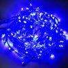 Ecola LED гирлянда 220V IP44 Нить наращиваемая (доп секция) 10м 160Led Синий Blue, прозр.провод с коннекторами