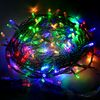 Ecola LED гирлянда 220V IP44 Нить наращиваемая (доп секция) 10м 160Led RGBW, прозр.провод с коннекторами