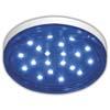 Ecola GX53 LED color 4,4W Tablet 220V Blue Синий прозрачный поликарбонат 27x74