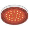 Ecola GX53 LED color 4,4W Tablet 220V Red Красный прозрачный поликарбонат 27x74