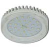 Ecola GX53 LED 8,5W Tablet 220V 2800K прозрачное стекло (ребристый алюм. радиатор) 27x75