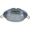 Ecola Light GX53-H6 светильник металл. встраиваемый плоский хром 101x16