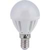 Ecola Light Globe LED 4,0W G45 220V E14 4000K шар 77x45