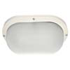 Ecola Light GX53 LED ДПП 03-9-102 светильник Овал накладной 2*GX53 матовый поликарбонат IP65 белый 280х175х105