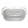 Ecola Light GX53 LED ДПП 03-9-002 светильник Овал накладной 2*GX53 прозр стекло IP65 белый 280х175х105